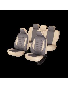 Set huse scaun urban gri-bej