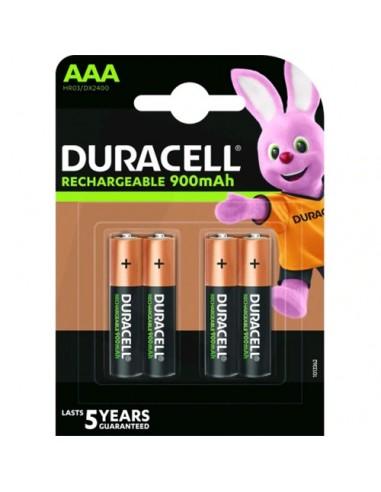 Acumulatori Duracell R3,  AAAK4...