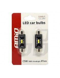 Set 2 bec led auto C5W...
