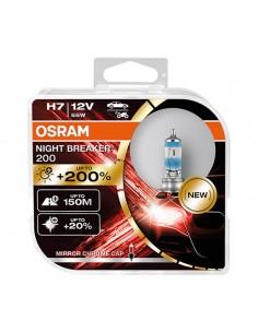 Set 2 becuri auto Osram H7...