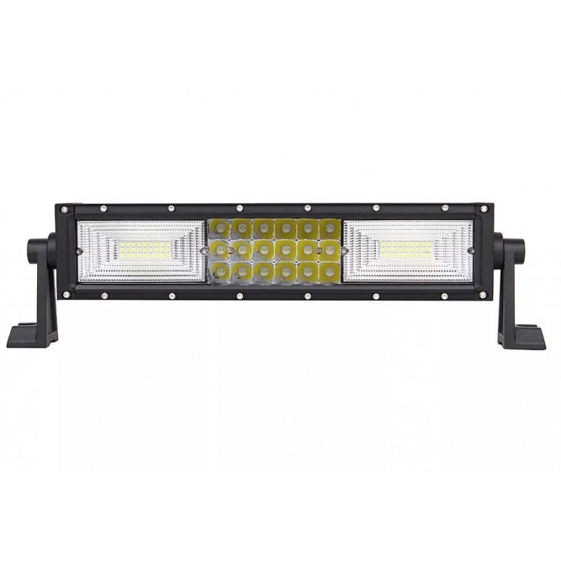 LED Bar Auto Curbat 216W, leduri pe 3...